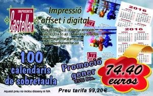 promocio calendaris gener 2016
